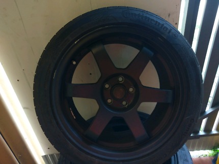 "17""Rota rims and tires"