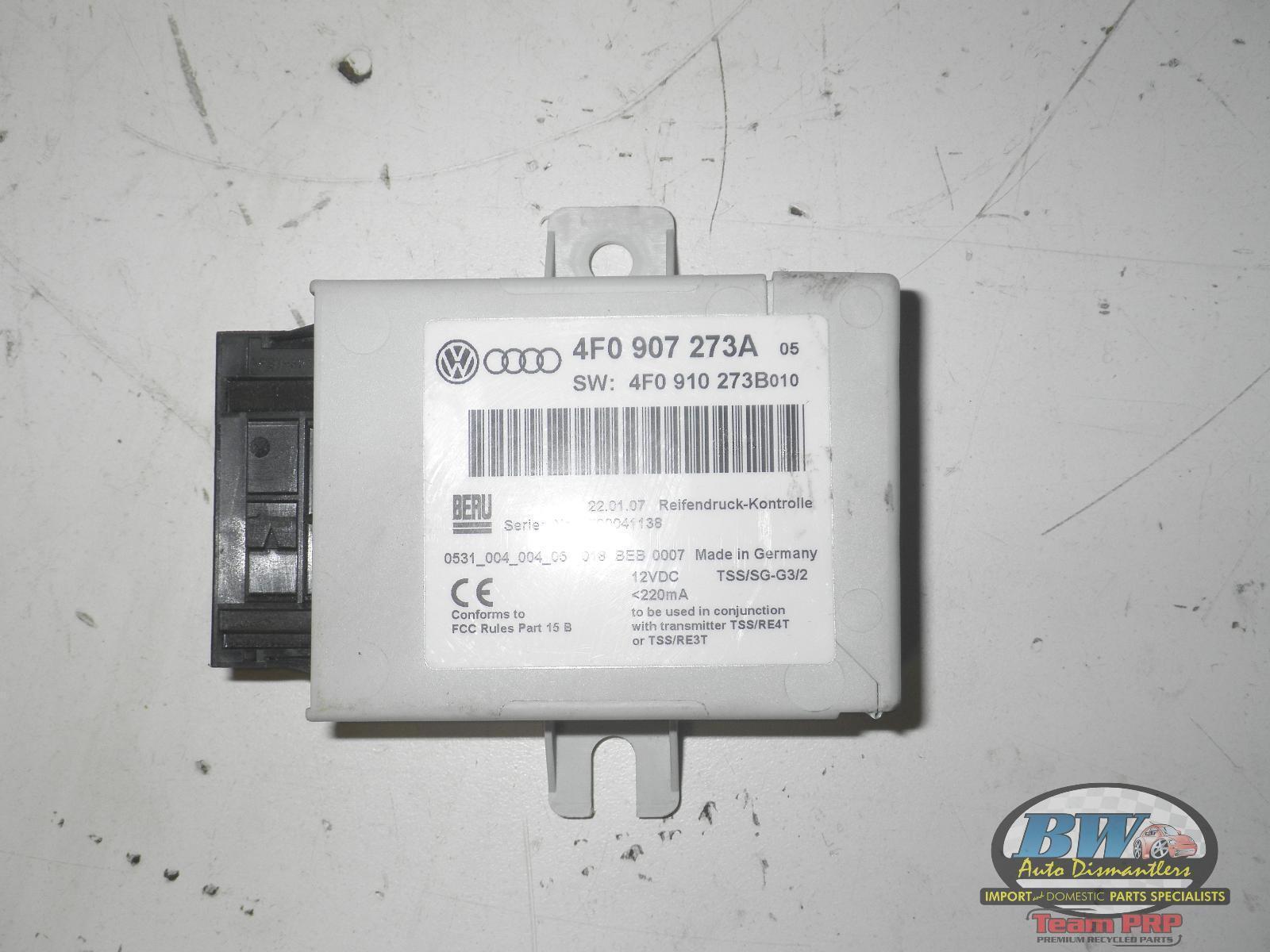 2006 Audi A6 TPMS Tire Pressure Sensor Module OEM 4F0 907 273 A 05 06 07 08