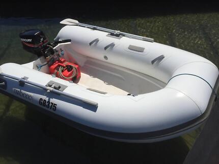 RIB 2.5m plus 8hp Outboard