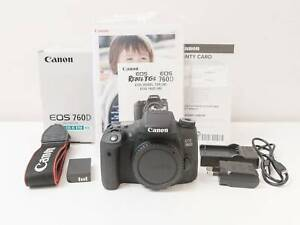 Canon 760D 24.2 MP Digital Camera Body Only with Box ~AS NEW Tarneit Wyndham Area Preview