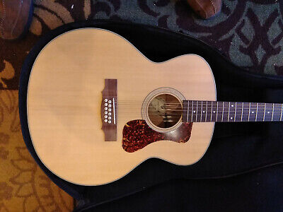 GUILD F-2512E Maple 12 string acoustic guitar with pickup