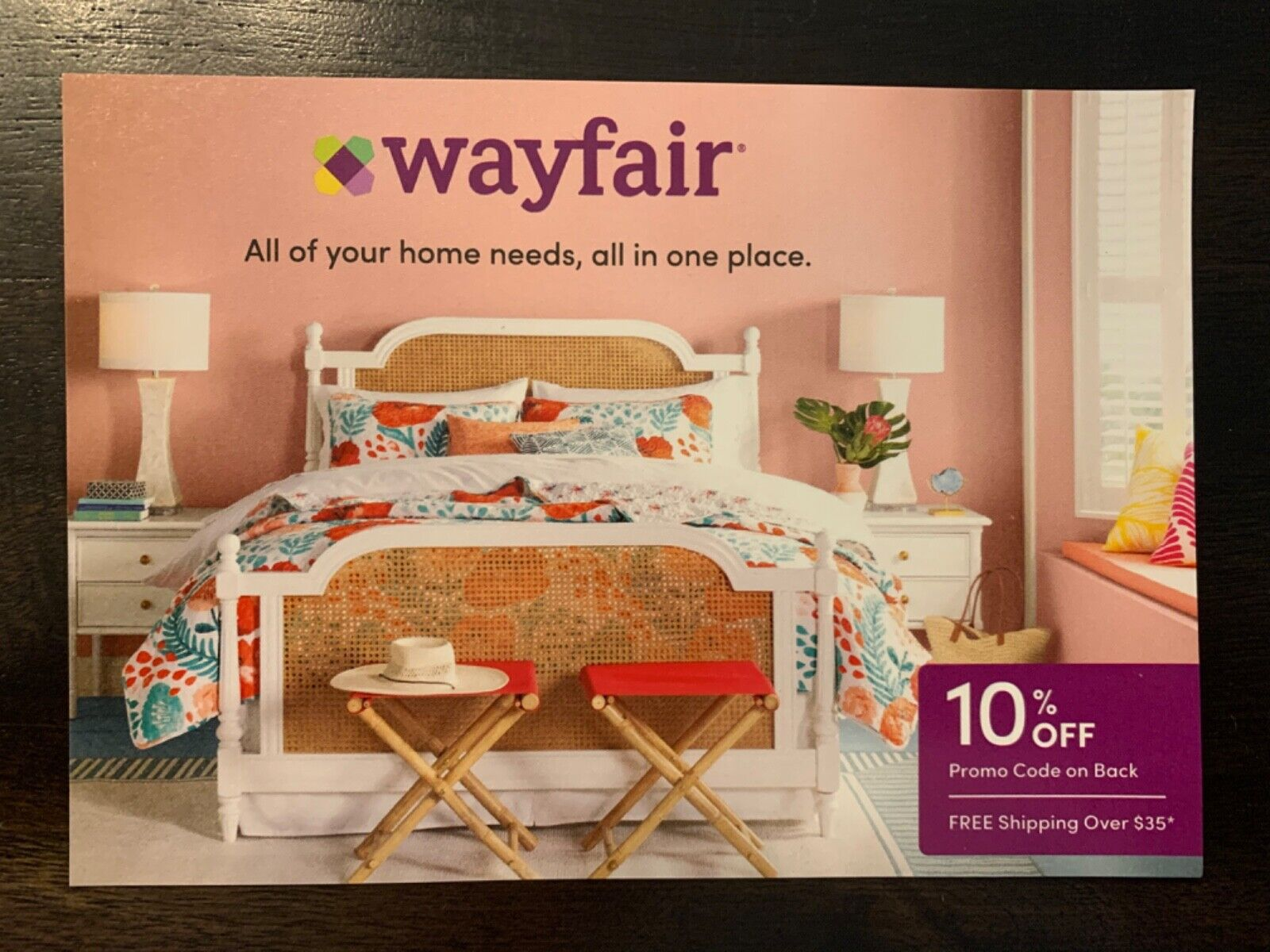 WAYFAIR.COM COUPON Promo Code 10 Off First Order - Exp 11/31 FAST DELIVERY  - $4.95