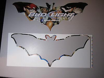 Bud Light Halloween Party Beer Bat Decoration Stencil Budweiser Bewery Bar Pub