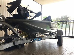 Poly bass boat Beachmere Caboolture Area Preview