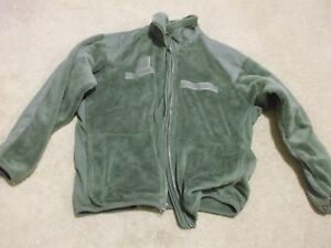 POLARTEC-G-III-ECWCS-FLEECE-JACKET-FOLIAGE-SIZE-MEDIUM-REGULAR