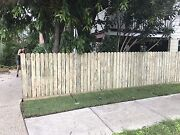 Treated pine wood fence palings Albion Brisbane North East Preview