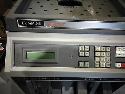 Cummins Jetsort 2000 - High Speed Coin Sortercounter