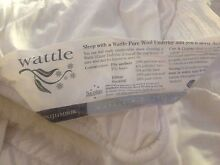 Pure wool underlay - double bed size Redlynch Cairns City Preview
