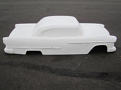 1955 Chevrolet Belair Hardtop stroller pedal car fiberglass body 1/4 scale 1956
