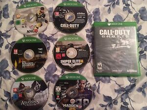 Xbox one games (7 for $60 obo)