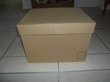 Boxes for packing or storage