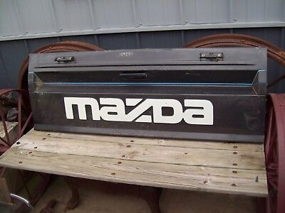 Original Mazda Truck Tailgate Charcoal Gray