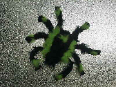 4x Fasching Halloween Deko Figur Spinne XL Horror Spider UVaktiv schwarzlicht