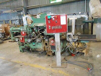 Weinig Woodworking Machinery Model Em-11 No 95674 230v 60hz