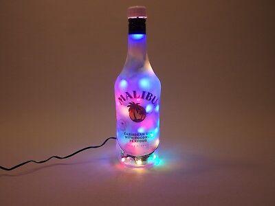 Malibu - Flaschenlampe Lampe mit 80 LEDs Warmweiß UND Multicolor UMSCHALTBAR ()