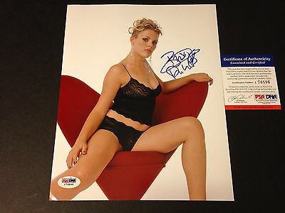 Busy Philipps Cougar Town Hot Signed 8X10 Photo Psa Dna