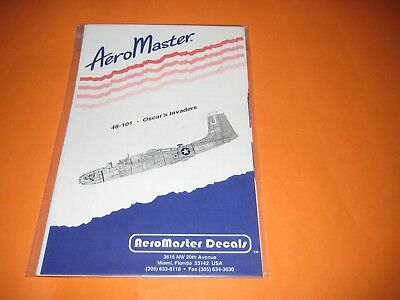 AEROMASTER DECALS A 26 INVADER 1/48 AMD48101