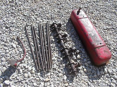 Farmall Ih 450 Tractor Engine Motor Rocker Arm Assembly Push Rod Rods Valve Co