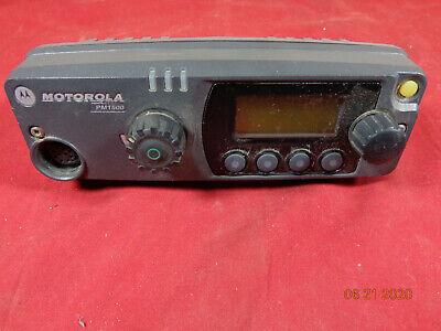 Motorola Pm1500 Vhf Uhf 110 Watt Mobile Radio Control Head Pmln4907d - C18