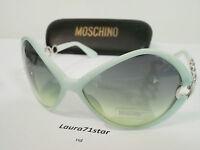 Moschino 3708 Green Water Verde Woman Occhiali Sole Sunglasses Original - moschino - ebay.it