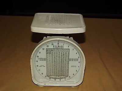 Vintage Post Office 1964 Pelouze Evanston Illinois Postal Scale