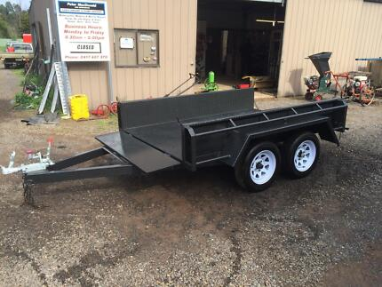 8 x 5 Heavy Built Tandem Trailer Newstead Mount Alexander Area Preview