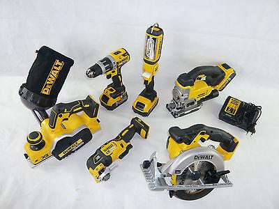 DeWalt 18V Kombo-Pack 3x5Ah Akku Werkzeug SET DCD 796 DCS 391 355 331 DCP 580