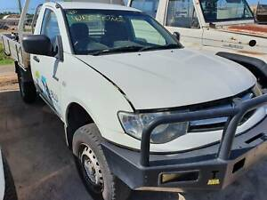 2011 MITSUBISHI TRITON DIESEL FOR WRECKING Mount Louisa Townsville City Preview