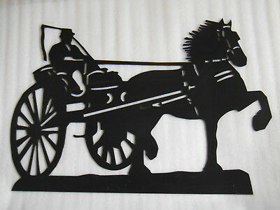 LARGE Metal Sign FRIESIAN / MORGAN HORSE in Carriage Barn Horse Stall Door Farm