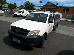 2007 Toyota Hilux Workmate 5 Sp Manual Flat Tray with Boxes