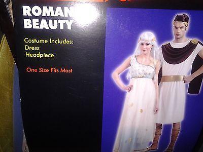 NEW Roman Beauty Goddess Queen Costume One Size Women  (Beauty Queen Costumes)