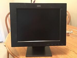 15  inch IBM Monitor for sale.