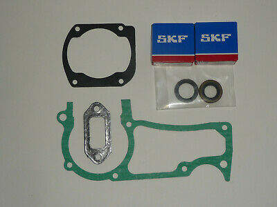 SKF Crankshaft Bearings Oil Seals Gaskets fits Husqvarna 362 372 372xp Jonsered