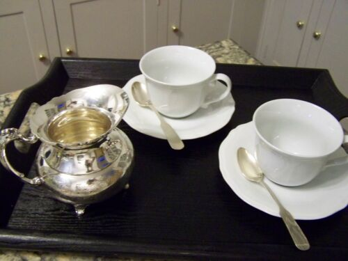 VINTAGE HOTEL ASCOT PATTERN SILVER CREAMER SYRUP PITCHER FANCY ENGRAVED FOOTED