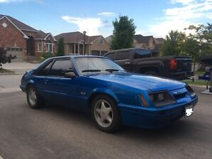 1986 Foxbody Mustang LX 5.0 5 speed.