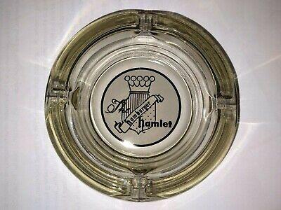 "Vintage Hamburger Hamlet Ashtray - Glass - 4 1/2"""