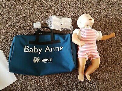 Laerdal Baby Anne Infant Nursing Training Cpr Manikin Duffle Bag Accessories