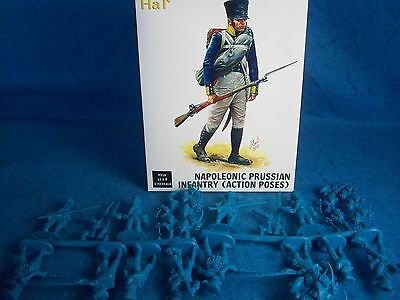 HAT#9318 Napoleonic PRUSSIAN Inf. (Action Poses) Toy Soldiers,(54MM) 18 figures (Hat Toy Soldiers)