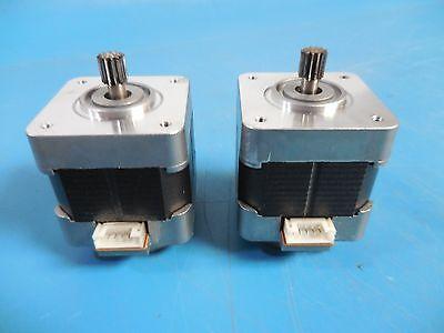 Minebea Astrosyn Stepper Motor 17pm-k110-01v Lot Of 2