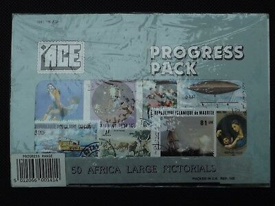 Usato, ACE STAMPS ~ 50 Africa Large Pictorials Progress Pack usato  Spedire a Italy