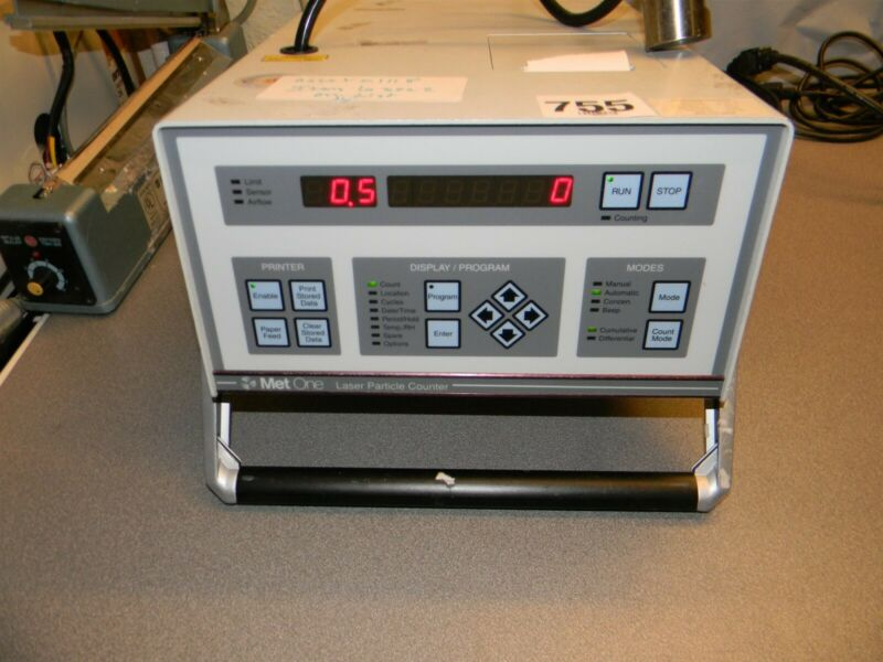 Met One 0.5μm A2408LL Laser Particle Counter W Hose and Fitting