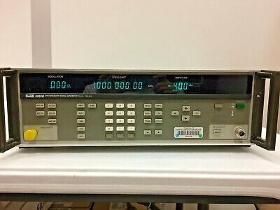 Fluke 6060b Synthesized Rf Signal Generator 10khz - 1050mhz With 488