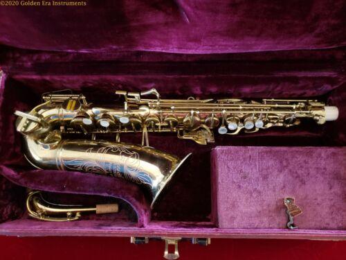 Buescher Aristocrat Alto Saxophone Circa 1951