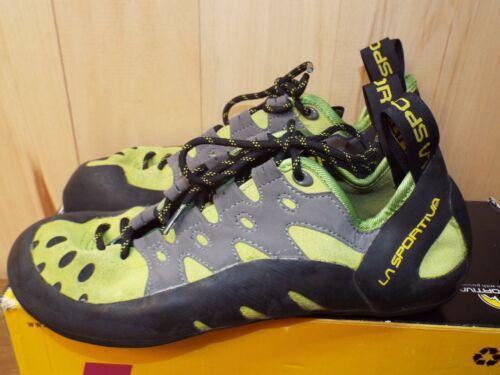 Women's Sz 10 ½ La Sportiva Tarantulace - Leather Climbing Shoe Kiwi Green w/Box