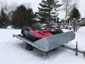 Two Sleds & a Trailer