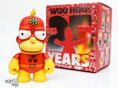 "Radioactive Man - Kidrobot The Simpsons 25th Anniversary - 3"" Vinyl Figure"