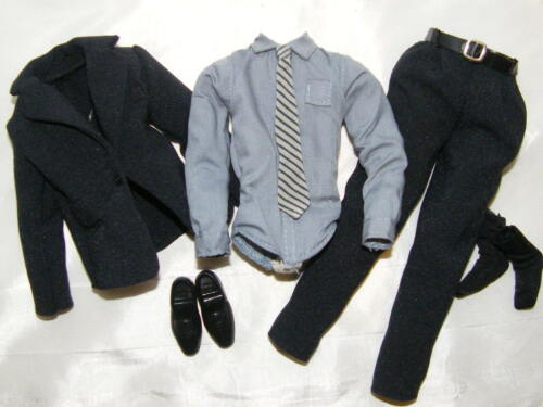 Ken Dark Navy Suit And Tie Fashion Ensemble ~ Newly Unboxed Condition