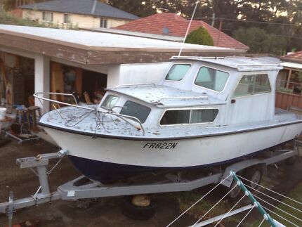 Boat for sale 25 ft 7·25m unfinished project  Beverley Park Kogarah Area Preview