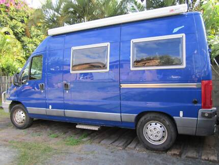 Fiat Ducato Campervan,Self sufficient camper. Must sell! Nambour Maroochydore Area Preview