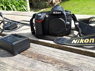 Nikon D90 12.3MP DSLR Camera - Black (Body Only)